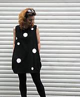 Šaty - FNDLK úpletové šaty 17 BK - 5492675_