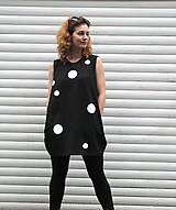 Šaty - FNDLK úpletové šaty 17 BK - 5492676_