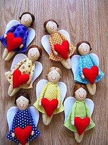 Bábiky - Anjeliček strážniček - 5493400_