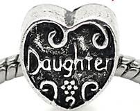 Pandorková korálka DAUGHTER - dcéra