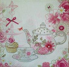 Papier - servítka s čajníčkom - 5494484_