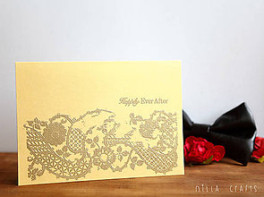 Papiernictvo - Happily Ever After in Gold - 5495875_