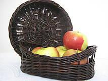 Košíky - Košík na pečivo, príbor, ovocie... - 5497395_
