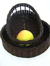 Košíky - Košík na pečivo, príbor, ovocie... - 5497398_