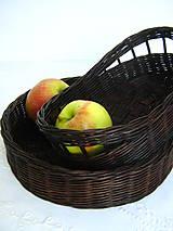 Košíky - Košík na pečivo, príbor, ovocie... - 5497402_