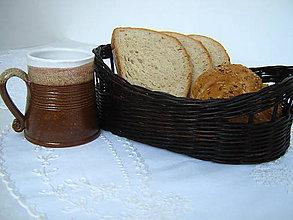 Košíky - Košík na pečivo, príbor, ovocie... - 5497393_