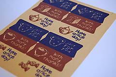 Papier - Dekoračné nálepky - 5498141_