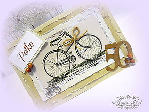 Papiernictvo - Bicykel pre oslávenca... - 5495456_