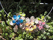 Náhrdelníky - masked  flower - 5499612_