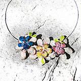 Náhrdelníky - masked  flower - 5499613_