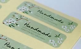 Papier - Samolepka Hand Made - 5499698_