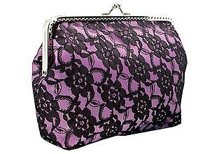 Taštičky - Čipková kabelka  , dámská taštička 0602A - 5502199_