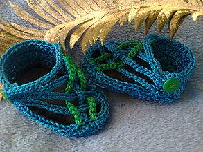Topánočky - Sandálky - 5501425_