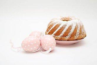 Dekorácie - Ružové dekoračné vajíčko - 5500995_