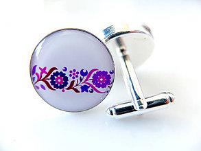 Šperky - Manžetové gombíky Gustáv 3 - 5500791_