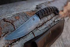 Nože - Keltský damaškový nôž s púzdrom na opasok - 5501557_