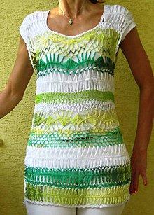 Šaty - Akcia - zelenkavé šatôčky - 5504330_