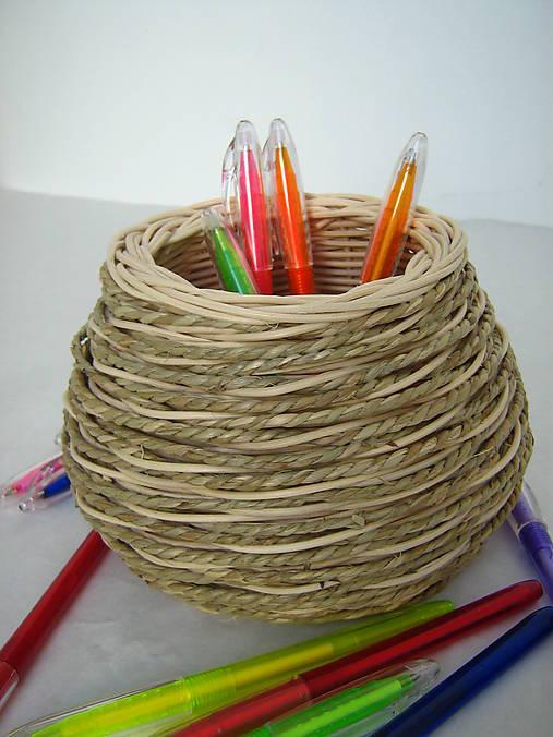 d293df4a2 Košík na perá, ceruzky, príbory, štetce... / Endula - SAShE.sk ...