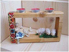 Svietidlá a sviečky - Bačova pohodička za dvacku - 5504485_