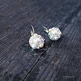 Náušnice - Náušničky WHITE & CREAM... - 5503055_