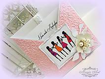 Papiernictvo - Pozvánka pre nevestičku - 5503288_