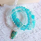 - turquoise owl - 5504711_