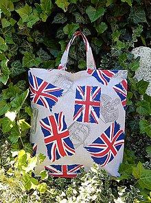 Nákupné tašky - Nákupná taška - vlajka Veľkej Británie - 5503223_