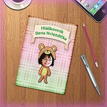 Papiernictvo - Roztomilý minizápisník pre deti s vlastnou fotkou - Macko - 5503440_