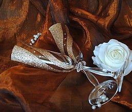 Nádoby - Svadobné poháre - 5506346_