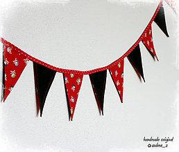 Dekorácie - pirátske vlajočky - 5507951_