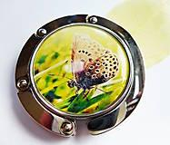 Pomôcky - háček na kabelku Motýlik - 5506704_