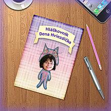 Papiernictvo - Roztomilý minizápisník pre deti s vlastnou fotkou - Sova - 5506041_
