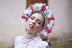 Ozdoby do vlasov - Tradičná svadobná parta - 5505806_