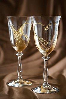 Nádoby - Svadobné poháre - 5510455_