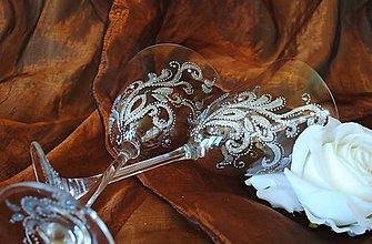 Nádoby - Svadobné poháre - 5511020_