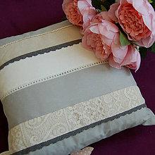 Úžitkový textil - Lace Shabby Shic ... polštář Sleva z 15,90 - 5509203_