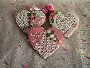 Dekorácie - medovníkové srdce pre pani učiteľku  :) - 5511259_