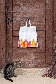 Nákupné tašky - Moja taška - Lístočky - 5512254_