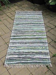 Úžitkový textil - koberec 70 x 140 cm tmavo zelený - 5509012_