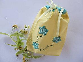 Úžitkový textil - Vrecko na bylinky - 5510869_