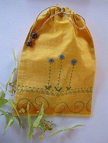 Úžitkový textil - Vrecko na bylinky - 5511746_