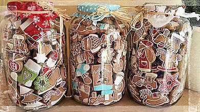 Dekorácie - dekoratívne vianočné perníky - 5509410_