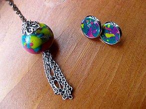 Sady šperkov - Farebný svet - sada - akcia č.61 - 5510090_