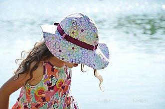 Čiapky - Romantický klobúk Flowers ❀ - 5512876_