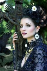 Ozdoby do vlasov - Grófkina čelenka z ruží - 5511711_