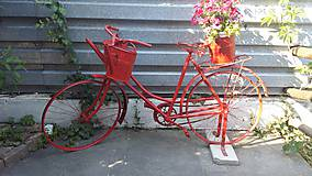 Fotografie - Red bike - 5513207_