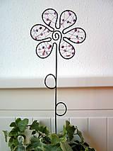 Dekorácie - kvet fialový - 5515014_