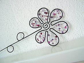 Dekorácie - kvet fialový - 5515015_