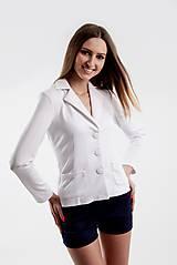 Kabáty - Dámske sako –biele - 5515479_
