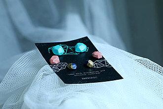 Náušnice - % Stones earrings set - 5515454_